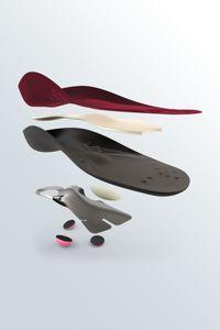 igli Comfort Schuheinlagen Bestandteile