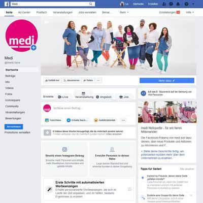Facebook für Ihr Sanitätshaus