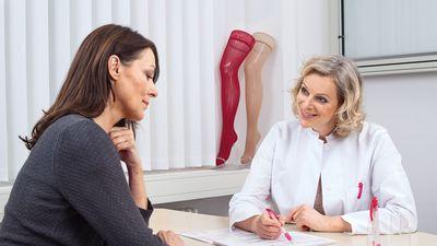 Informationen zur Venentherapie mit medi