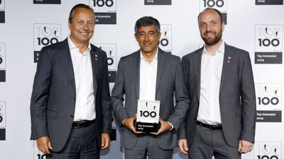 Top 100 Innovation Award
