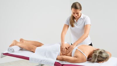 Lymphdrainage Therapie
