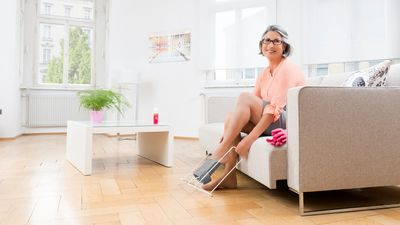 Accessories for compression stockings