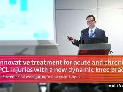 M.4s® PCL dynamic knee brace medi workshop at ESSKA