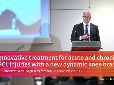 M.4s® PCL dynamic knee brace Prof. Dr. Adrian Wilson