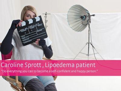 mediven® 550 – pasienthistorie Caroline Sprott