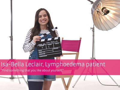 mediven® 550 – pasienthistorie Isa-Bella Leclair