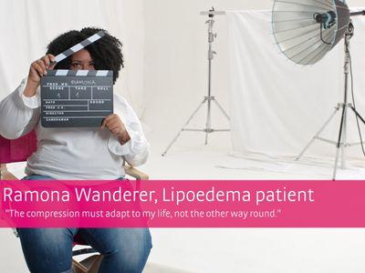 mediven® cosy – pasienthistorie Ramona Wanderer