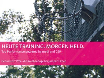 Genumedi PSS Kniebandage – die Kniebandage bei Jumper´s Knee