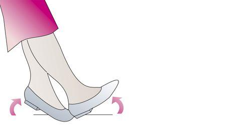 Venengymnastik Fußwippen