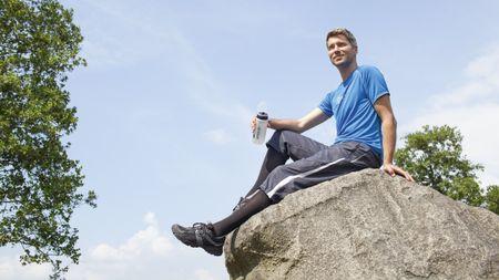 Unterschenkelfußorthesen von medi bieten robusten Schutz für den verletzten Fuß
