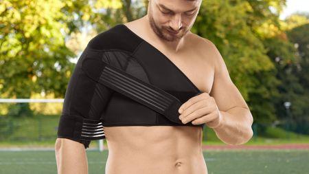 medi Shoulder action* unterstützt bei der Therapie von Schulterluxation