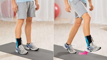 Physio-Übungen nach Verstauchungen