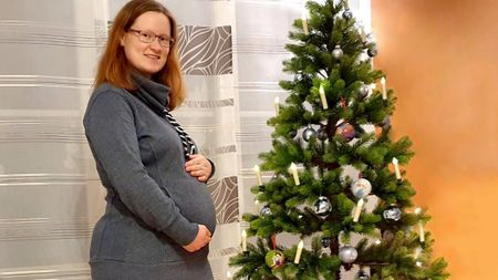 Tanja Krug talks about her pregnancy with lipo-lymphoedema