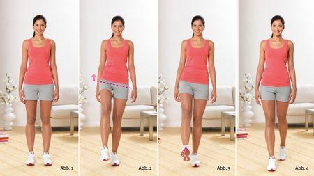Ходьба на полусогнутых ногах