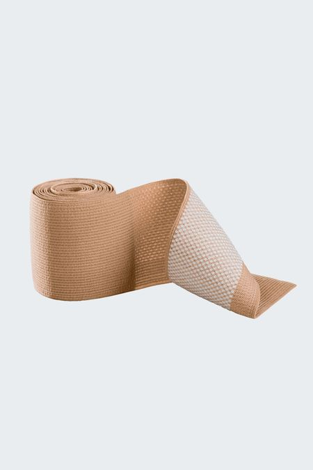 Micro-nubs topband sensitive for compression stockings