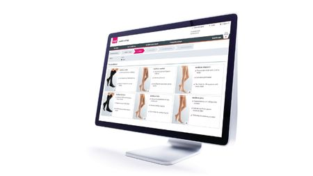 E-shop online ordering