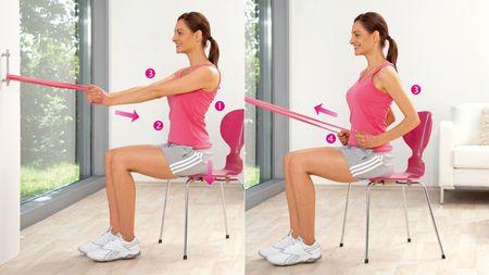 Тренировка длинных мышц спины