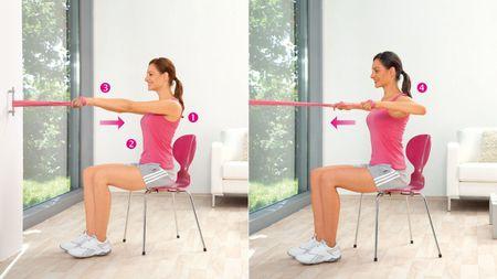 Укрепление верхней части спины и задних мышц плечевого пояса