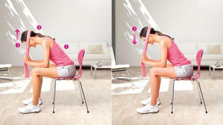 Подъем головы - упражнение для тренировки мышц шеи