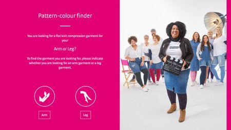 Pattern-colour finder