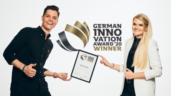 German Innovation Award Gewinner 2020: medi vision