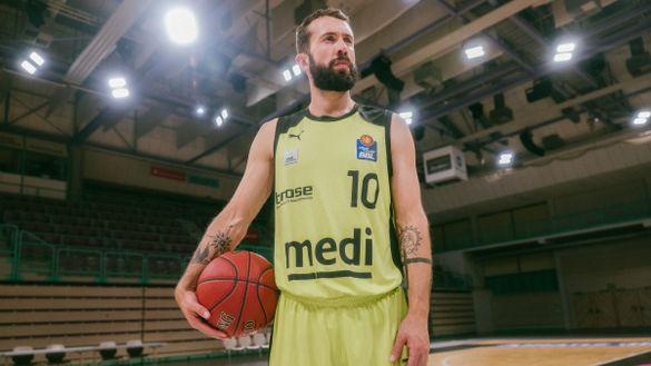 Bastian Doreth auf dem Basketballfeld