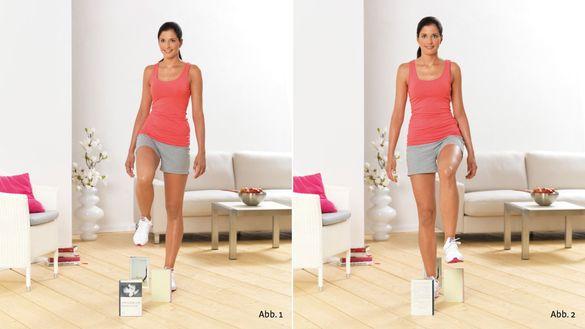 Übungen zur Kräftigung des Knies