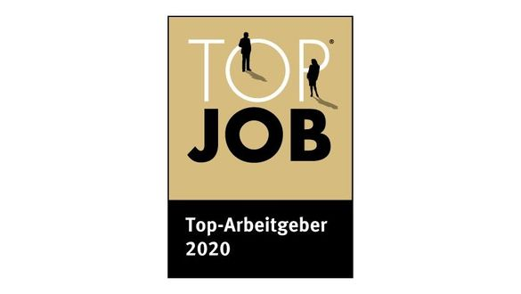TOP JOB seal: trophy for the most attractive employers in German medium-sized businesses