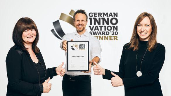 German Innovation Award winner 2020: medi companion
