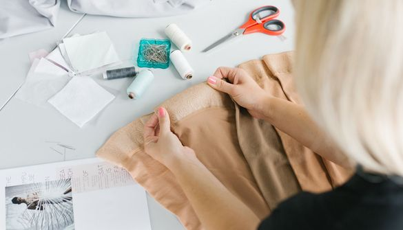 medi inspires aspiring fashion designer