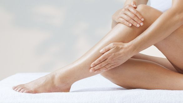 Skin care for your legs