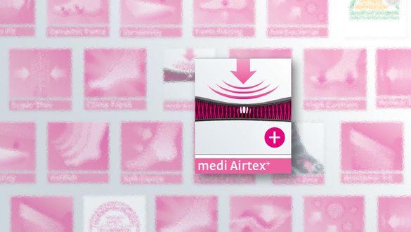 medi Airtex⁺ - Hoher Tragkomfort