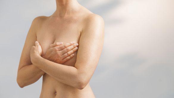 Brust und Taille