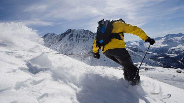 Skifahren tut Körper und Seele gut
