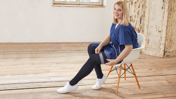 Topbands for compression stockings
