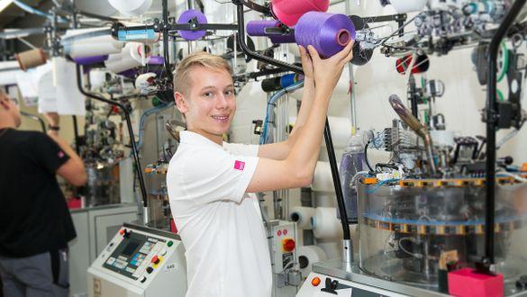 Ausbildung Maschinen- und Anlagenführer Textil