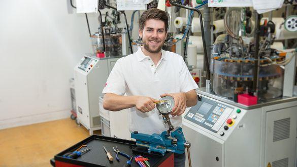Ausbildung Produktionsmechaniker Textil