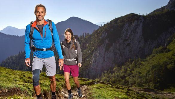 Fitness fördern durch Wandern