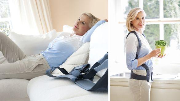 Spinomed Rückenorthese zur Therapie von Osteoporose Frau
