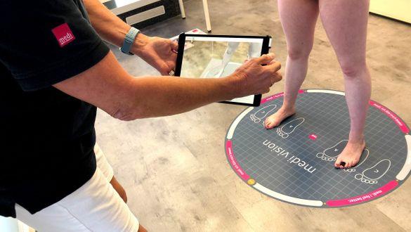 Annegret Pommer vom Kompetenzzentrum Papenburg berichtet über ihre Erfahrungen mit dem digitalen Tool medi vision