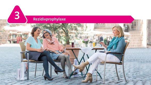 Rezidivprophylaxe mit Kompression