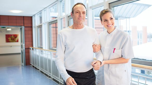 Specialist in physical and rehabilitative medicine: Targeted aftercare and rehabilitation