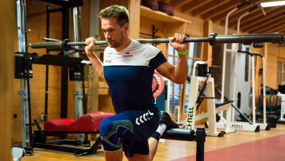 Sebastian Holzmann DSV athlete in training
