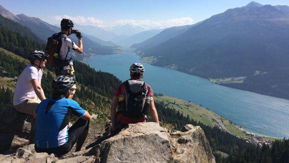 Через Альпы на горном велосипеде