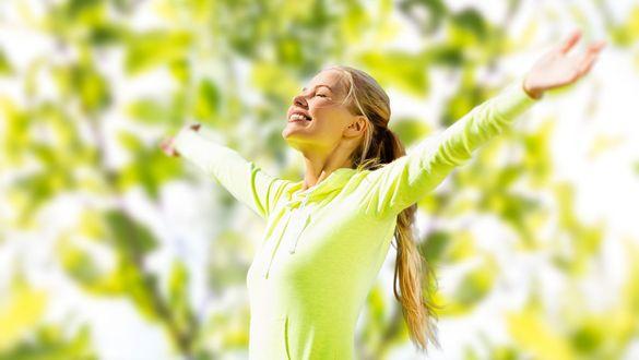 Feeling well despite springtime lethargy
