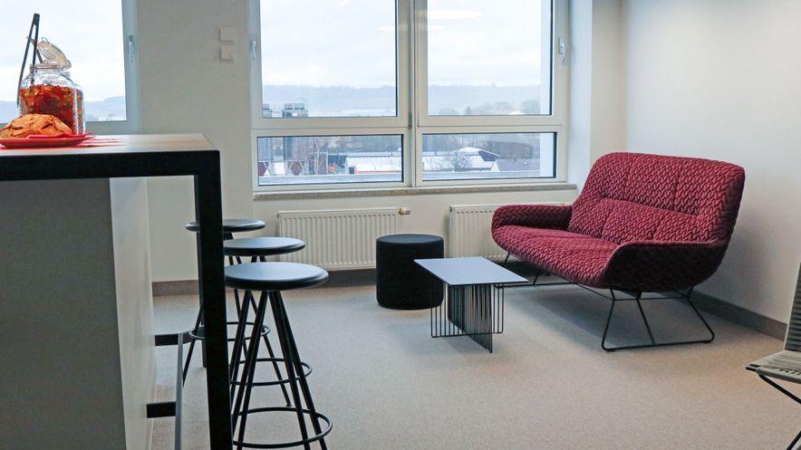 Modern Workplace Pilotprojekt Cafe
