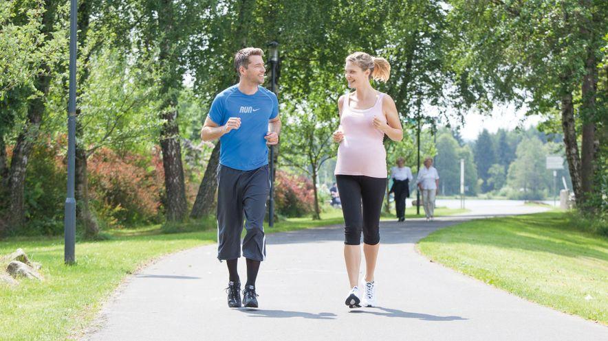 Bewegung zur Aktivierung der Wadenmuskelpumpe