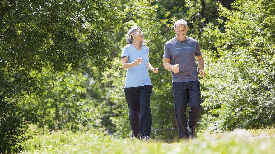 Bewegung aktiviert und steigert den Abfluss der Lymphflüssigkeit