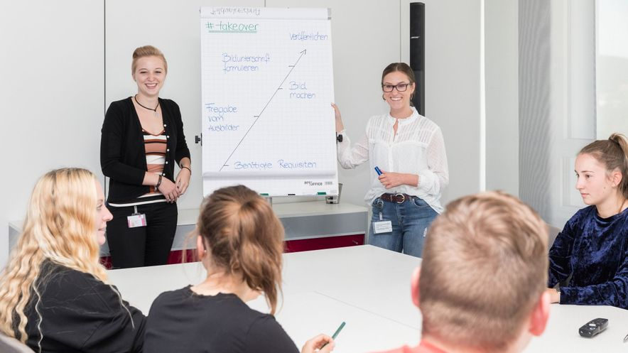 HR Azubi Projekt Takeover Ausbildung