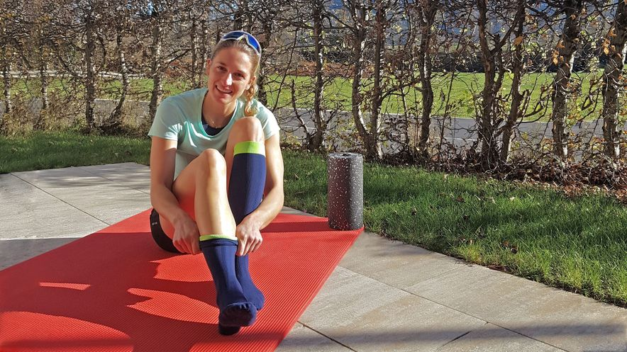 Patientengeschichte: Vanessa Hinz mit dem medi Rehab one